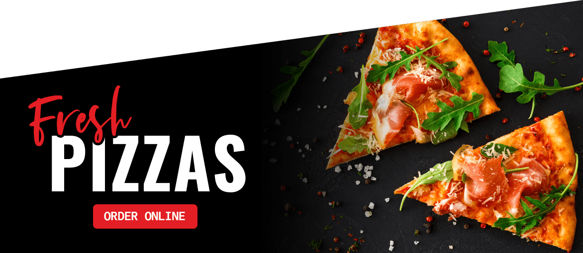 Order Fresh Pizzas from Burger Plus